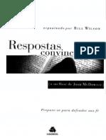 Respostas Convincentes - Josh McDowell – Bill Wilson
