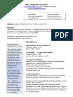 teachingresume 053114 without address pdf