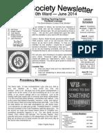 June Newsletter 2014
