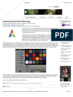 Academy Launches Color Predictor App | Animation World Network