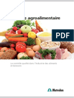 Analyse Agroalimentaire