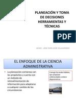 Planeación y Toma de Decisiones Herramientas y Técnicas