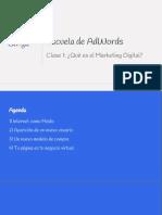 1ra Clase Escuela Online PyMEs_ Marketing Online