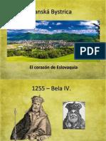 Banská Bystrica, presentación en espanol
