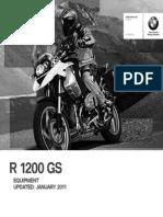 BMW GS1200 Accessories Brochure