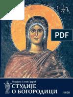 Studije o Bogorodici - Mirjana Tatić-Đurić