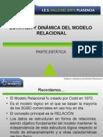 Tema 5 - Estatica y Dinamica Del Modelo Relacional
