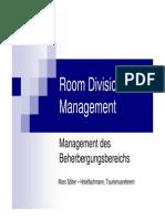 Front Office Management