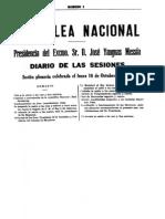 Asamblea Nacional Consultiva_Discurso Inaugural 1927