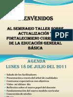 Fundamentacion de La Actualización y Fortalecimiento Curricular