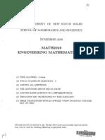 MATH2019 Engineering Mathematics 2E. (3)