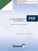 El Sector Minero en Sudamérica