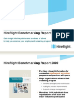 HireRight Employment Screening Benchmarking Report