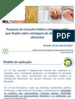 Rotulagem de Alimentos Alergênicos - Proposta de RDC da Anvisa