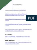 Páginas Webs de Lectoescritura