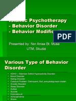 Presentation Islamic Psychotherapy