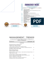 Management Trends June - Dec 2013