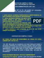 Direito Contratual - Aula 9ª e 10ª