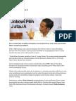 Artikel Pilihan Media Indonesia Minggu 18 Mei 2014