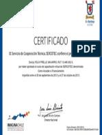 Certificado Como Acceder a Financiamiento