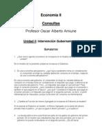 Consultas Economía II (Unidades 4, 5 y 6)