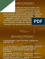 Apresentação Behaviorismo Bom