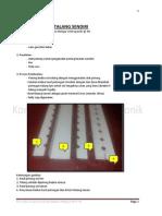 Cara Pembuatan NFT Talang Gully (Hydroponik)