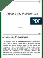 Amostra Nao Probabilistica.ppt