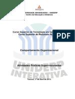 ATPS Comportamento Organizacional