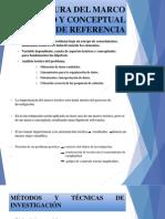Estructura Del Marco Teórico y Conceptual de Referencial