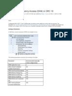 FF Configuration in GRC 10.0