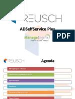Presentación Pre Venta ADSelfService Plus 2014