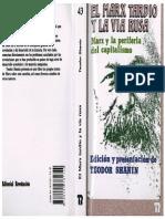 220865861 El Marx Tardio y La via Rusa Marx y La Periferia Del Capitalismo Teodor Shanin Ed