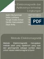 Metode Elektromagnetik Dan Aplikasinya Terhadap Lingkungan