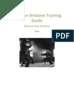 Bujinkan Brisbane Training Guide