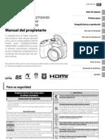 S2500HD Spanish Manual