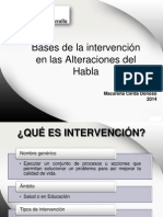01 Bases de La Intervención en Alteraciones Del Habla