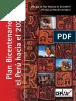 Fascículo 1 Plan Bicentenario