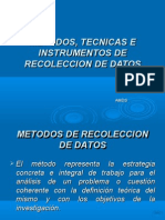 Metodo - Instrumento de Recoleccion de Datospp 2