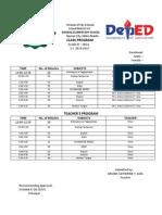 Division of City Schools