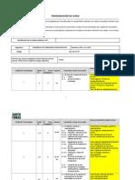 Programación de Curso Dhc Cft Ip 2014
