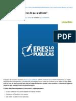 Clasesdeperiodismo.com-Descarga El eBook Eres Lo Que Publicas
