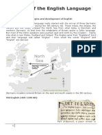 History of the English Language Miss Nose