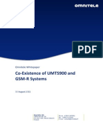 Omnitele Whitepaper Co Existence of UMTS900 and GSM R Approved