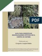 Guia Macroliquenes Epifitos Con Fotos