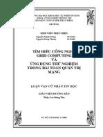 Cong Nghe Grid Computing Va Ung Dung Thu Nghiem Trong Bai Toan Quan Tri Mang