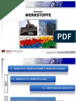Werkstoffe 0.1. & 0.2. - Werkstoffe & Werkstoffkunde