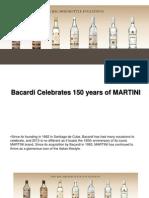 Bacardi Celebrates 150 Years of MARTINI