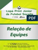 Relacao de Equipes 2012