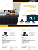 Acoustimass® 6 Series III Home Entertainment Speaker System_Brochure